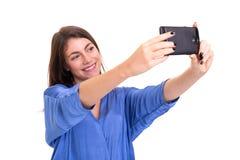 Lassen Sie mich ein Selfie nehmen! Stockfoto