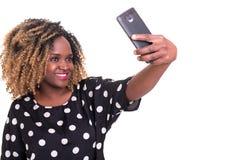 Lassen Sie mich ein Selfie nehmen! Lizenzfreie Stockfotografie
