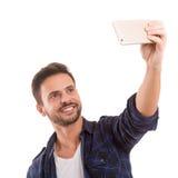 Lassen Sie mich ein Selfie nehmen! Lizenzfreie Stockbilder