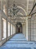 Lassen Sie in Nuruosmaniye-Moschee passieren, gelegen in Shemberlitash, Fatih, Istanbul, die Türkei Stockfotografie