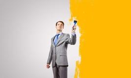 Lassen Sie uns etwas Farbe addieren! Lizenzfreies Stockfoto