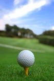 Lassen Sie uns Golf spielen Stockfoto