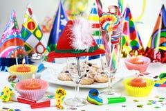 Lassen Sie uns party Stockfoto
