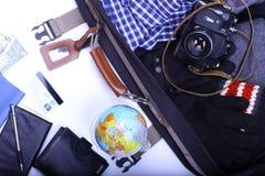 Lassen Sie uns reisen Stockfoto