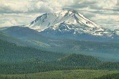 Lassen-Spitze, vulkanischer Nationalpark Lassens, Kalifornien lizenzfreie stockfotografie