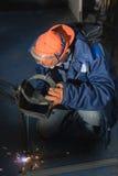 Lassen van metaalproducten Royalty-vrije Stock Afbeelding