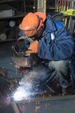 Lassen van metaalproducten Royalty-vrije Stock Afbeeldingen