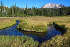Lassen Volcanic, California, USA Royalty Free Stock Images