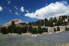 Lassen Volcanic, California, USA Royalty Free Stock Photography