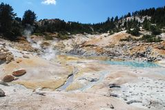 Lassen Volcanic, California, USA Stock Images