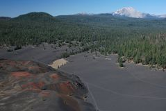 Lassen Volcanic, California, USA Royalty Free Stock Photo