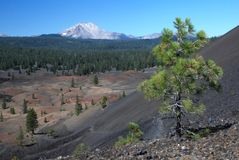 Lassen Volcanic, California, USA Stock Photography