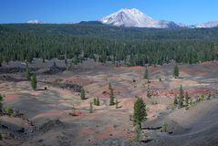 Lassen Volcanic, California, USA Royalty Free Stock Image