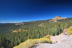 Lassen Volcanic National Park in California Royalty Free Stock Image