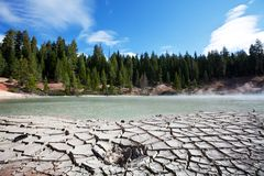 Lassen Volcanic Royalty Free Stock Photography