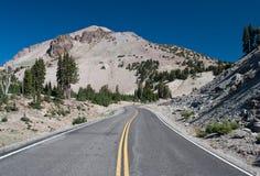 Lassen Volcanic Road Stock Image