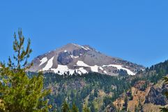 Lassen Volcano Royalty Free Stock Images