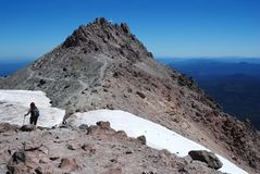 Lassen vulkanisch, Kalifornien, USA lizenzfreies stockbild
