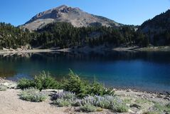 Lassen vulkanisch, Kalifornien, USA stockfotos