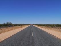 Lasseter highway Stock Photography