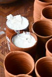 Lassi, bevanda indiana Fotografia Stock Libera da Diritti