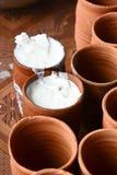 Lassi indisk drink royaltyfri foto