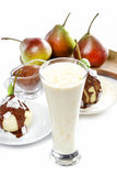 Lassi is a traditional, yogurt-based drink Stock Image