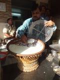 Lassi (Yogurt Drink) in Jaipur, India Royalty Free Stock Image