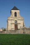 Lassical church of Sagy in V al d Oise Stock Photography
