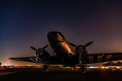 Lassie calmo do C-47 imagens de stock royalty free