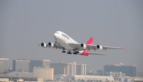 LASSISMO il 20 ottobre 2008 Tak del Airbus 380 fuori Immagine Stock Libera da Diritti