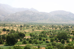 lassithi ορεινών περιοχών της Κρήτ& στοκ εικόνες