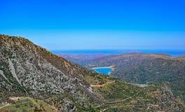 Lassithi Plateau on Crete island Royalty Free Stock Images