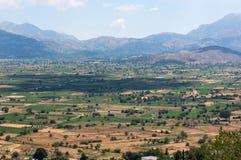 Lassithi plateau famous landmark of Crete Stock Images