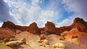 Lasso di tempo del canyon rosso archivi video