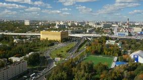 Lasso di tempo dell'orizzonte di St Petersburg archivi video