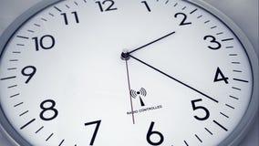 Lasso di tempo dell'orologio 4 K illustrazione di stock