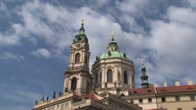 Lasso di tempo della chiesa di San Nicola, Praga archivi video