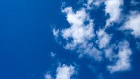 Lasso di tempo della nuvola video d archivio