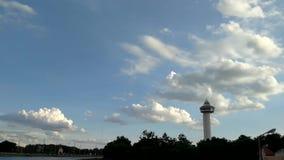 Lasso di tempo delle nuvole & del cielo video d archivio