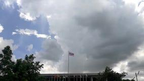 Lasso di tempo delle nuvole & del cielo stock footage