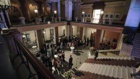 Lasso di tempo dello zgorzelec kultury della cattedrale di festività video d archivio