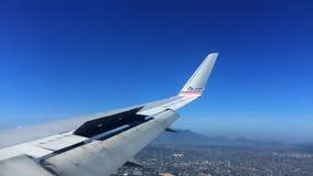 Lasso di tempo di atterraggio di aeroplano all'EVENTO Rio Airport archivi video