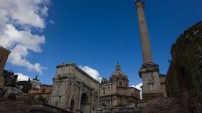 Lasso di tempo di Colosseum Roma stock footage