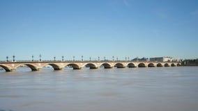 Lasso di tempo nella città del Bordeaux, Francia archivi video