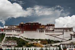 Lasso di tempo di Palazzo del Potala Posto di Dalai Lama Lhasa, Tibet Fotografia Stock