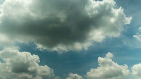 Lasso di tempo tropicale della nuvola archivi video