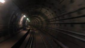 Lasso di tempo di vista di viaggio del sottopassaggio video d archivio