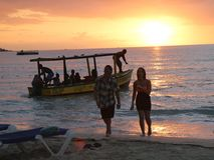 Last boat tour Stock Photos