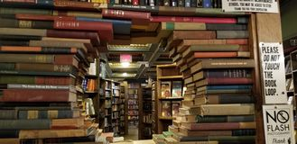 The Last Bookstore royalty free stock photography